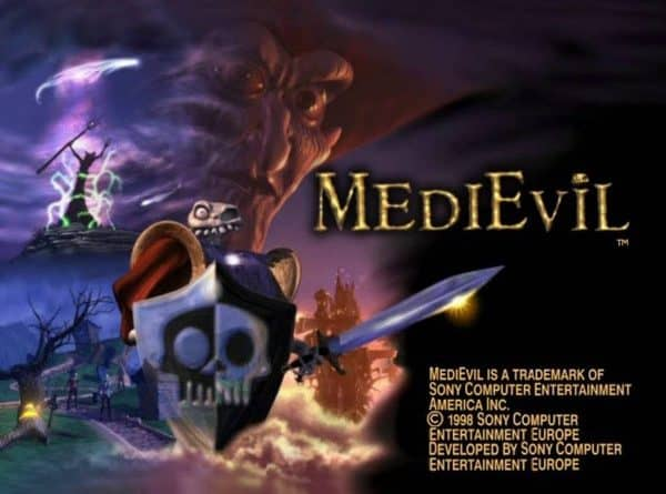 Game Review Medievil Ps1 Games Brrraaains A Head Banging Life