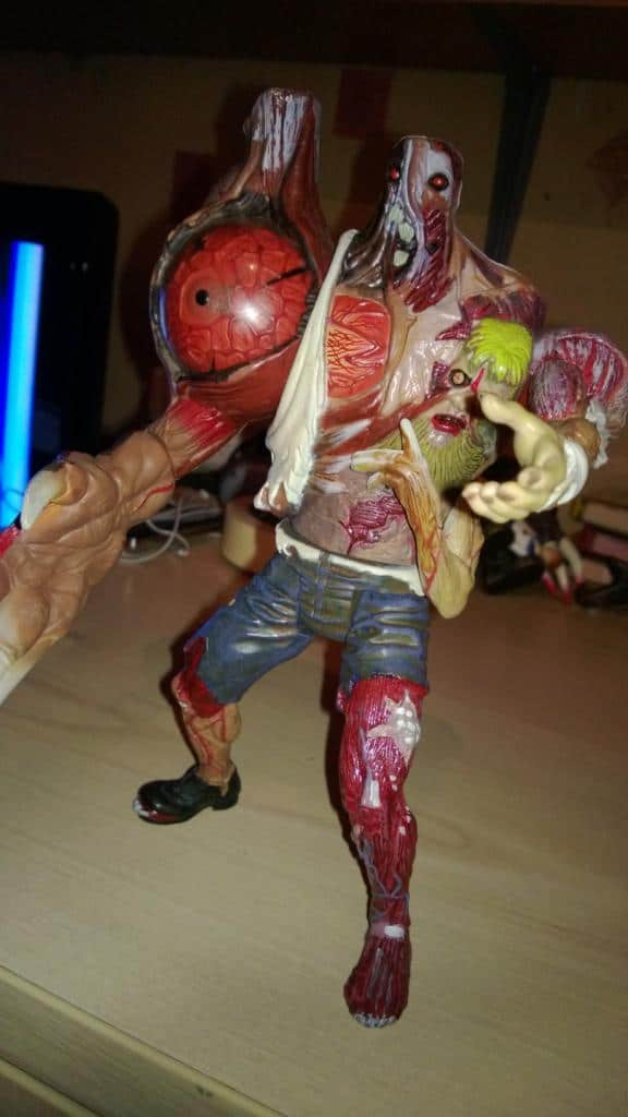 Collectable Review William Birkin Stage 2 Resident Evil 2