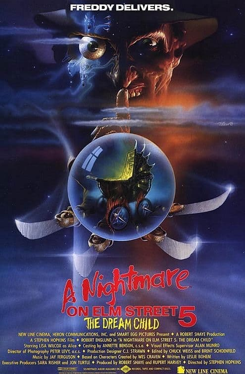 Horror Movie Review: A Nightmare on Elm Street 5: The Dream Child (1989)