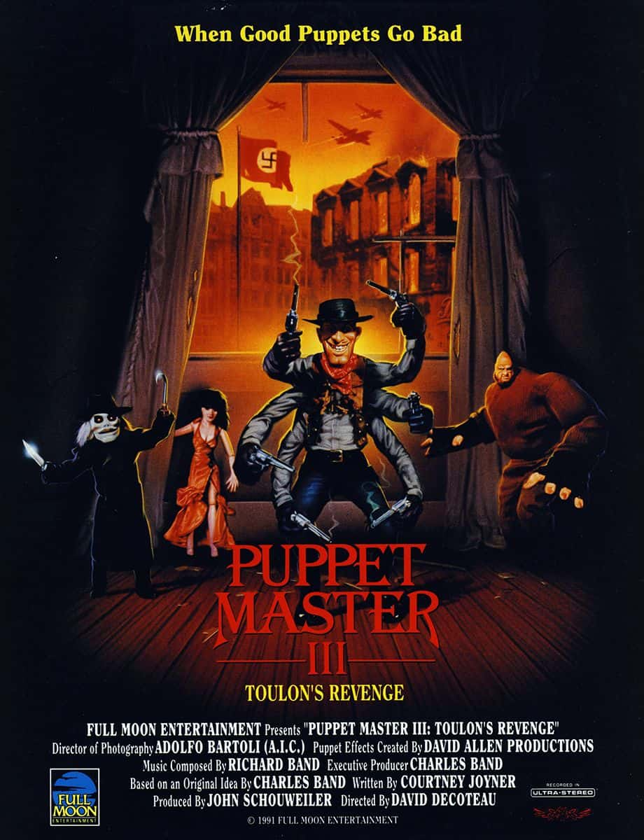 Horror Movie Review: Puppet Master 3: Toulon's Revenge (1991)