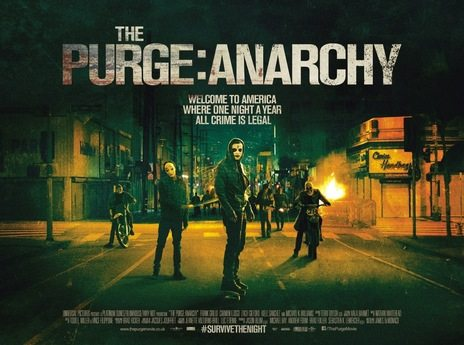 Horror Movie Review: The Purge: Anarchy (2014)
