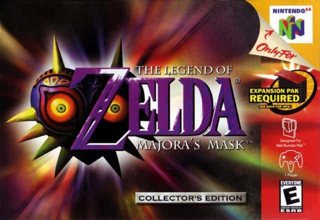 Game Review: The Legend of Zelda: Majora's Mask (N64)