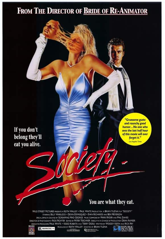 Horror Movie Review: Society (1989)