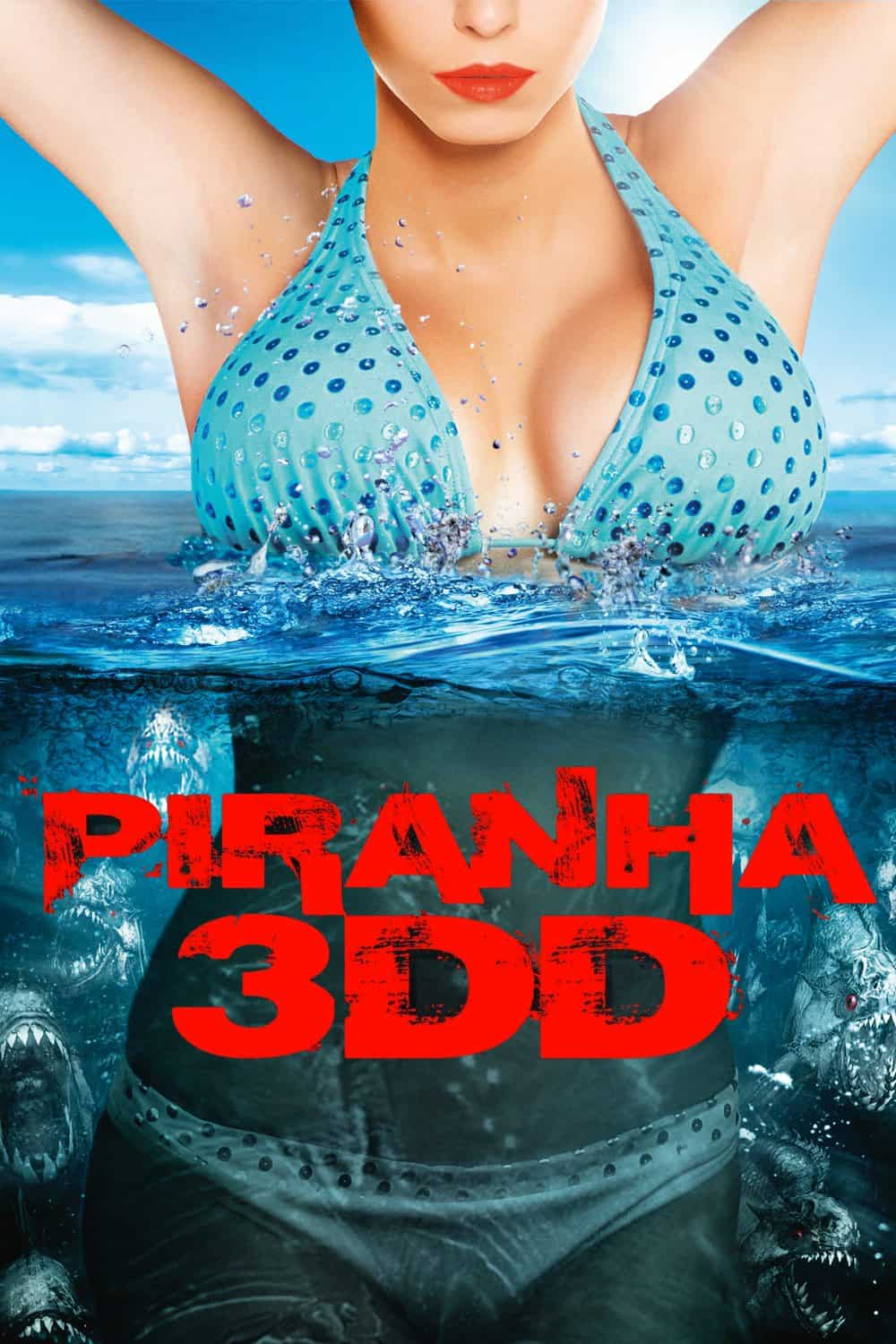 Horror Movie Review: Piranha 3DD (2012)