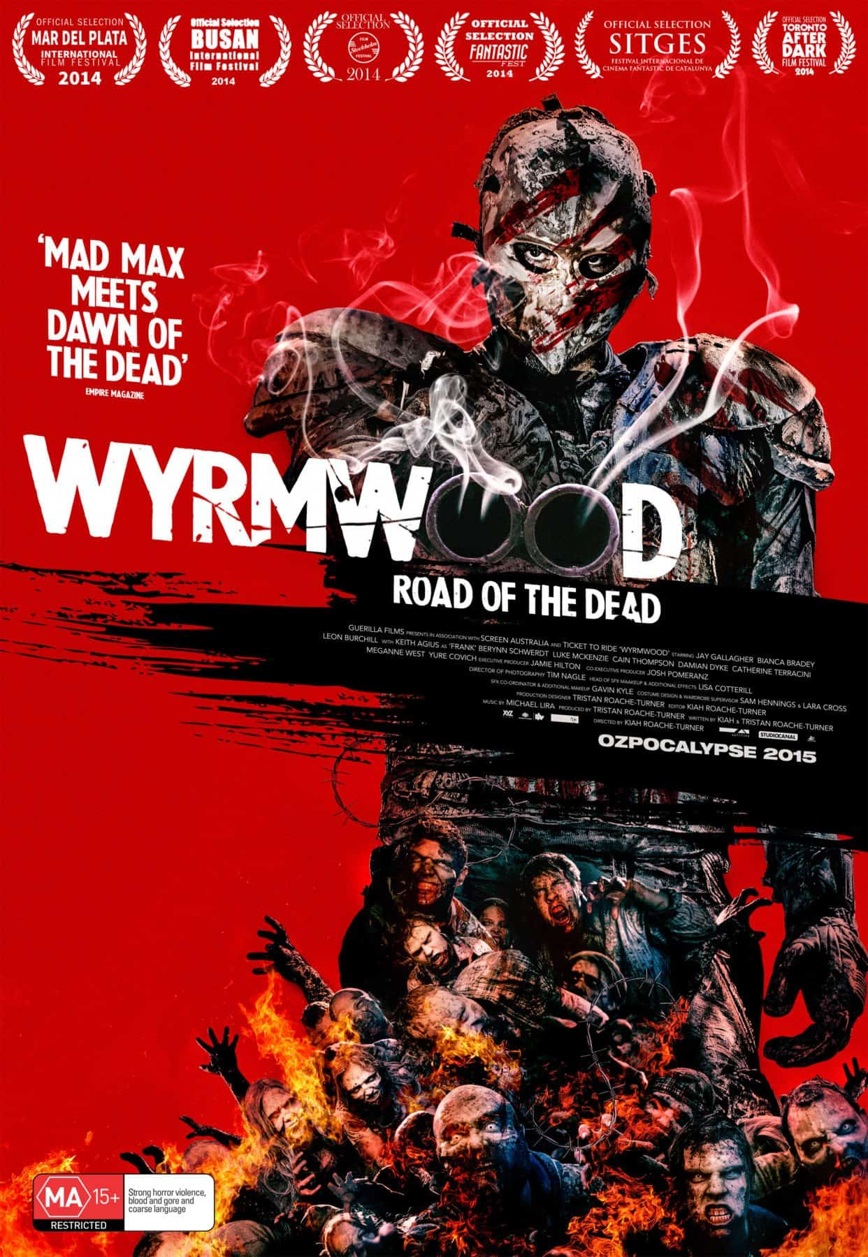 Horror Movie Review: Wyrmwood: Road of the Dead (2014)