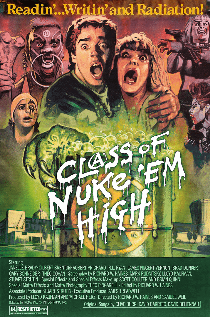 Horror Movie Review: Class of Nuke 'Em High (1986)