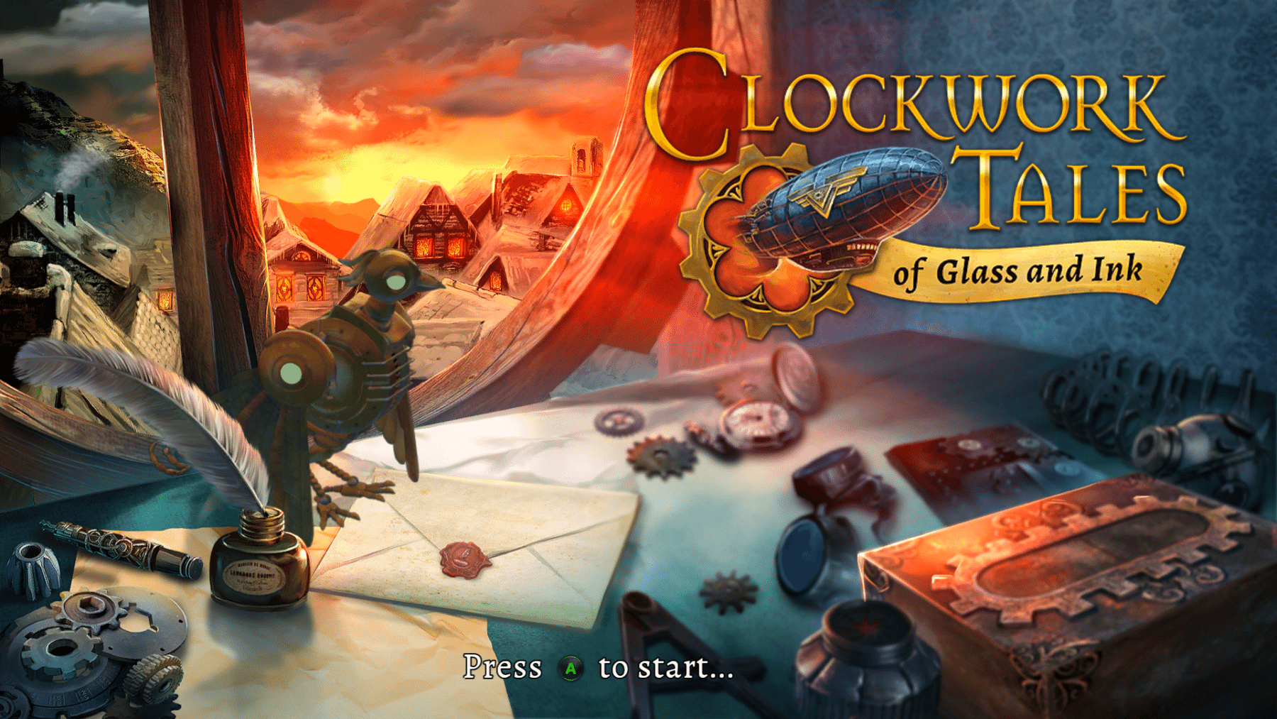 Game Review: Clockwork Tales: Of Ink & Glass (Xbox One)