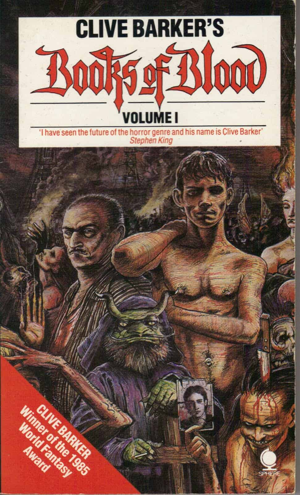 Horror Book Review: Books of Blood – Volume One (Clive Barker)