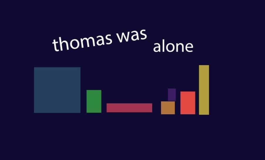 Game Review : Thomas Was Alone (Mobile)