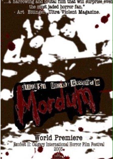 Horror Movie Review : August Underground's Mordum (2003)