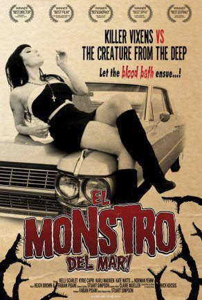 Horror Movie Review: El Monstro Del Mar! (2010)