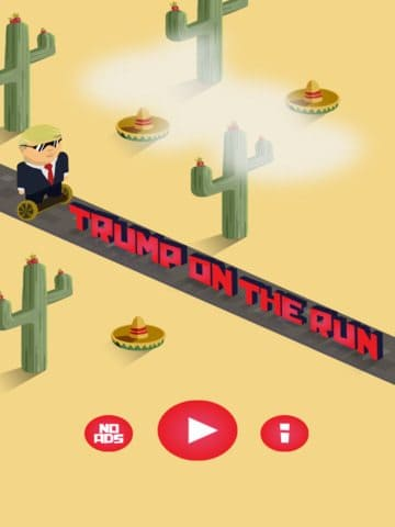 Game Review: Trump on the Run (Mobile – Free to Play)