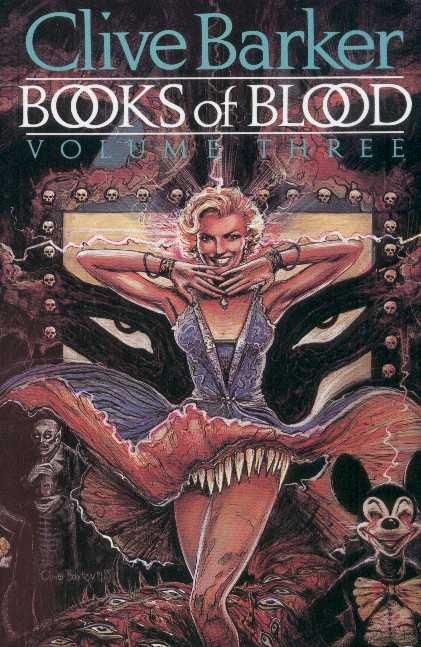 Horror Book Review: Books of Blood – Volume Three (Clive Barker)