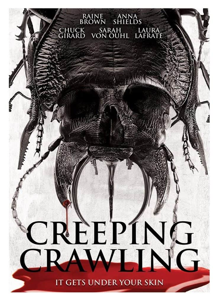 Horror Movie Review: Creeping Crawling (2012)