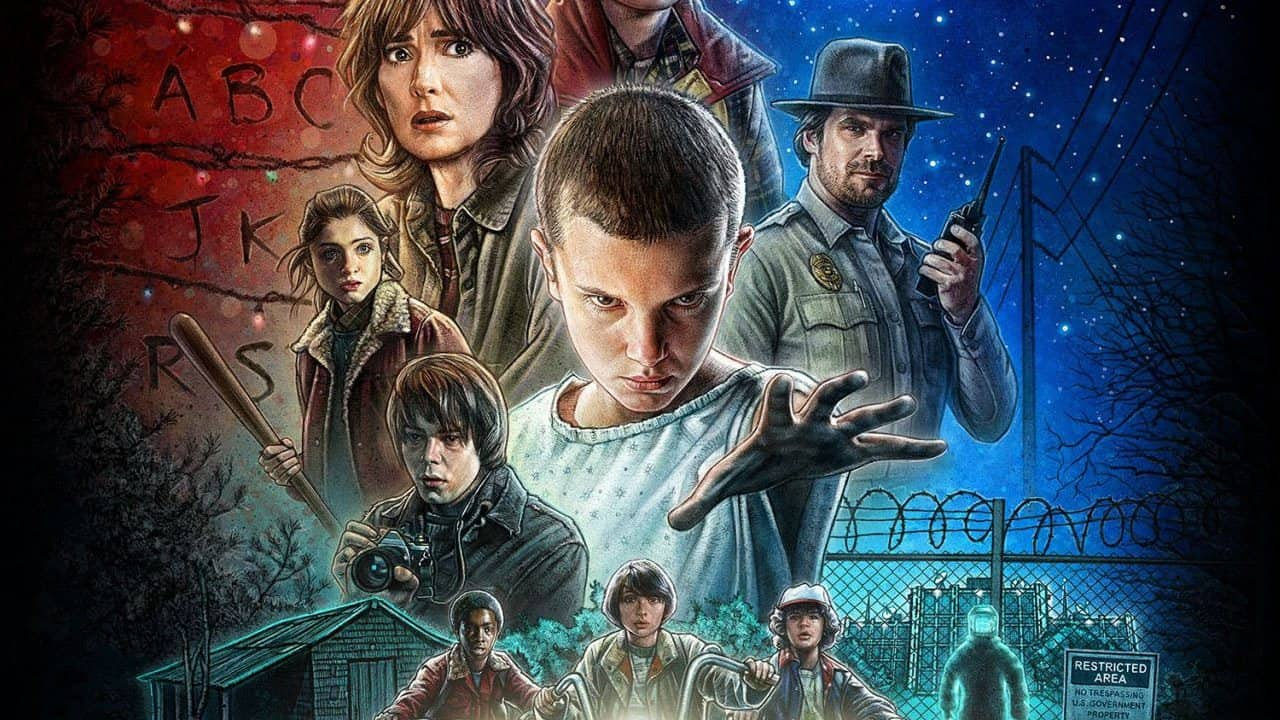 TV Series Review: Stranger Things – Season 1