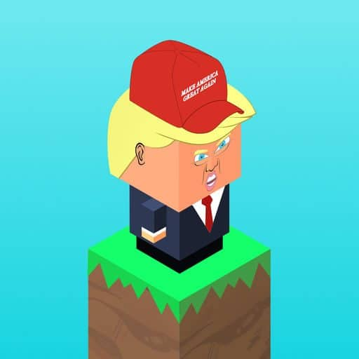 Game Review: Trump Bounce (Mobile – Free to Play)