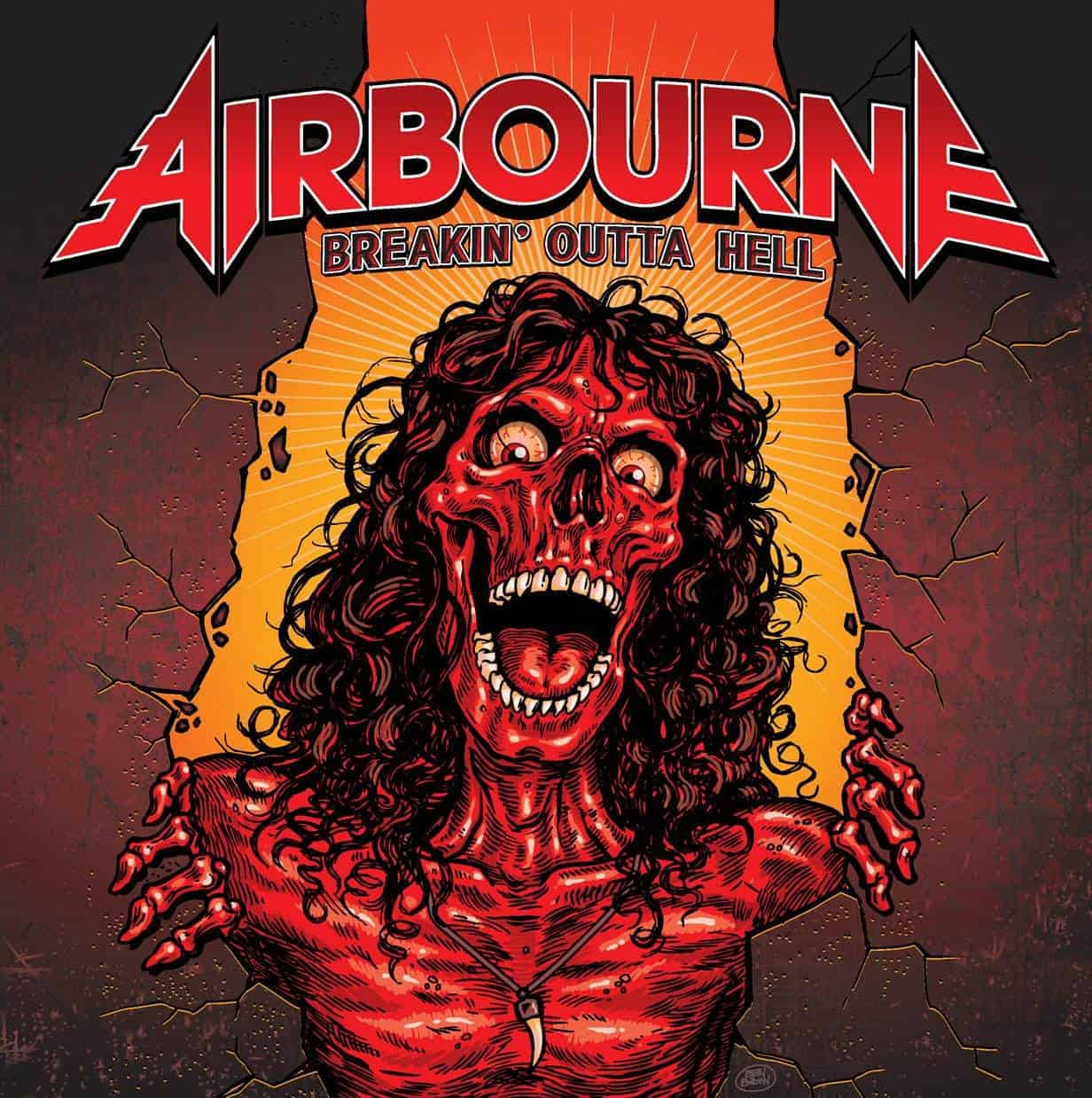 Album Review: Airbourne – Breakin' Outta Hell (Spinefarm Records)