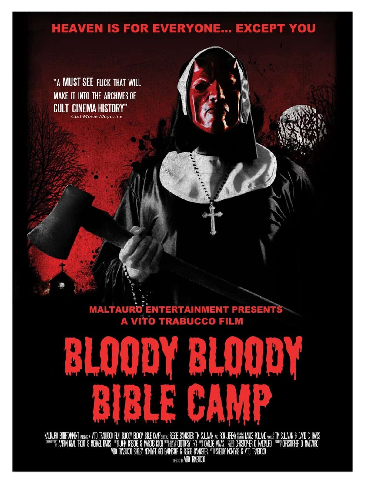 Horror Movie Review: Bloody Bloody Bible Camp (2012)