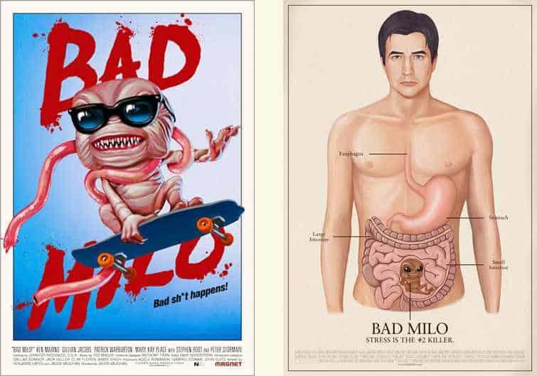 Bad Milo Cover  C2 B7 Horror Reviews 2013