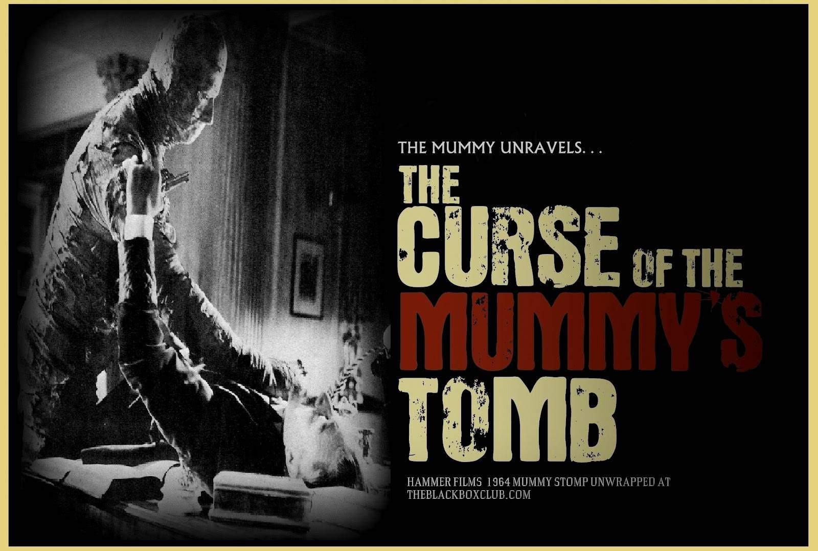 The Curse Of King Tuts Tomb Torrent: Horror Movie Review: The Curse Of The Mummy's Tomb (1964