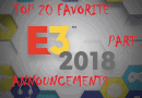 Top 20: Favorite Announcements From E3 2018 (Part 2)