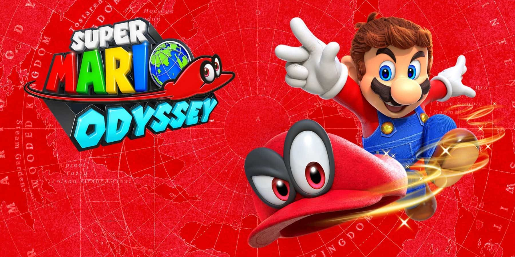 Game Review Super Mario Odyssey Nintendo Switch Games