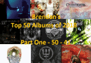 Brendan's Top 50 Albums of 2018: Part 1 (50 to 41)