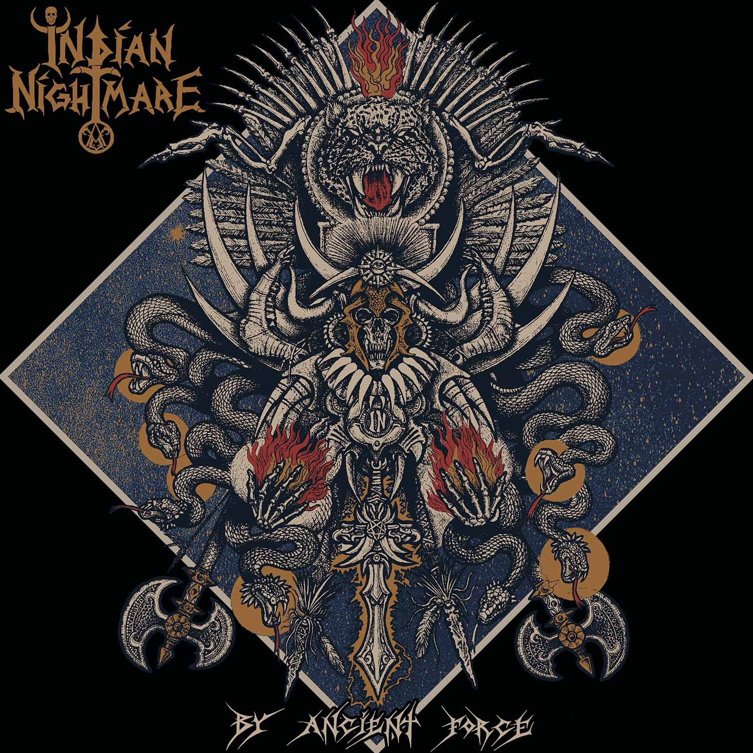 Album Review: Indian Nightmare - By Ancient Force (High ...