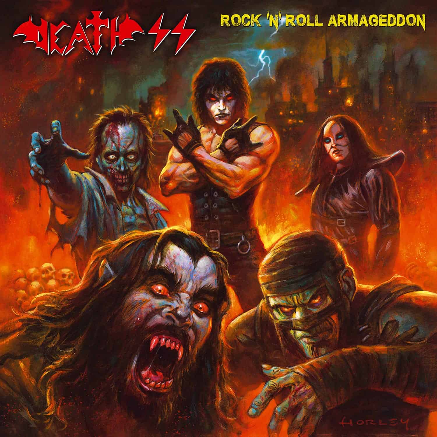 Album Review: Death SS - Rock 'n' Roll Armageddon (High ...