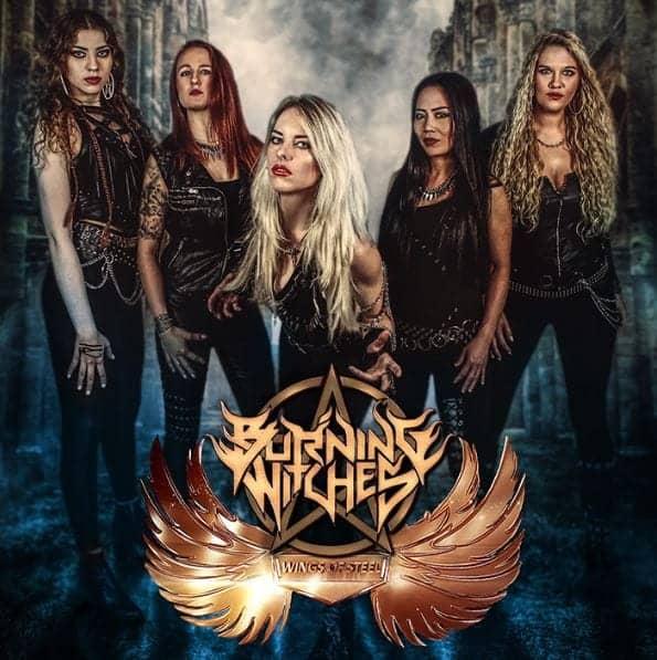 Αποτέλεσμα εικόνας για burning witches wings of steel ep