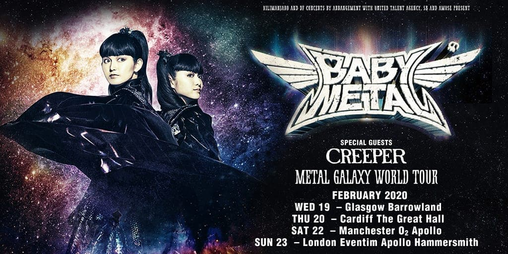 Live Review: BABYMETAL At the Eventim Apollo, London (23/02/20) - Games, Brrraaains & A Head-Banging Life