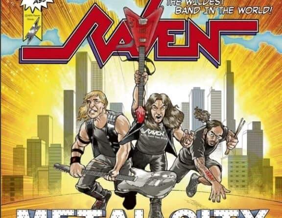 Metal City by Raven