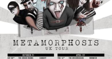 Ward XVI Metamorphosis UK Tour